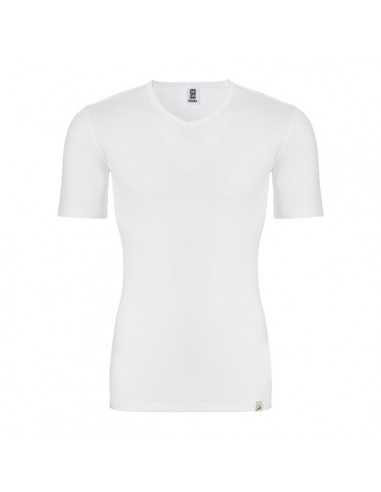 Ten Cate Thermo V-Shirt Sneeuw Wit