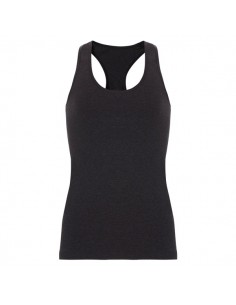 Ten Cate Meisjes Racerback Shirt Zwart Melee 13-18Y