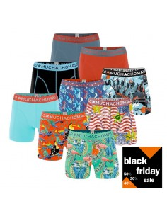 MuchachoMalo Boys BLACK FRIDAY 9PACK SUPER ACTIE Jongens Boxershorts