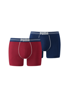 Puma Boxershort 2Pack COTTON STRETCH Blue / Red
