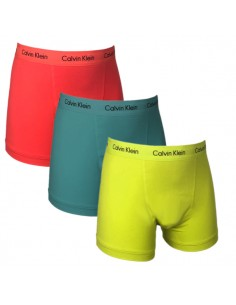 Calvin Klein Ondergoed color mix 3Pack Green Blue Red Long Trunk