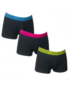 Calvin Klein Ondergoed 3Pack Blue Green Red styles low rise trunk