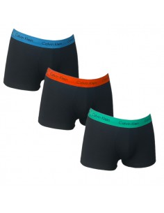 Calvin Klein Ondergoed 3Pack Orange Blue Red Green Low Rise Trunk