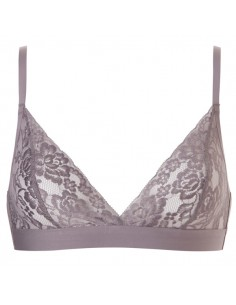 Ten Cate Secrets Lace Bralette Taupe Seamless