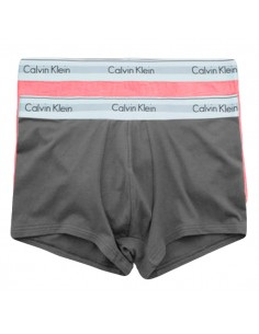 Calvin Klein Ondergoed Modern Cotton Stretch Trunk Red Brown 2Pack