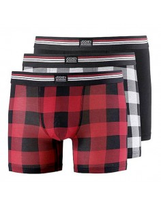 Jockey Boxershorts 3 pack Hawaiian Red long boxershorts