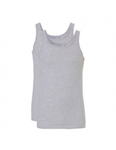 Ten Cate Men Fine Shirt 2Pack Grijs