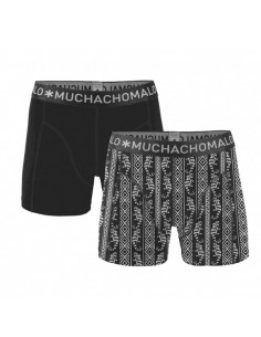 MuchachoMalo Cotton Modal Green 2Pack Heren Boxershorts