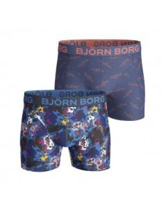 Björn Borg Short 2Pack BB SIGNATURE FLOWER AND BLOCKS Surf the Web