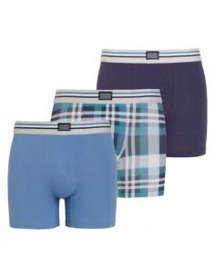 Jockey Boxershorts 3 pack Classic Maui Blue Trunk