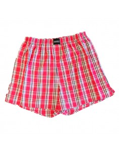 Jockey Boxershort Klassiek Woven Red Medish