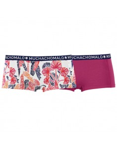 MuchachoMalo Short 2Pack Natur Dames Ondergoed