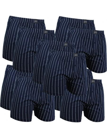 Gino Santi Klassieke boxer 8+2gratis pak Navy Pin Stripes