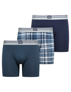 Jockey Boxershorts Cotton Stretch  Trunk 3Pack Dark Iris