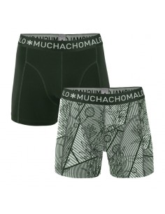 MuchachoMalo Cotton Modal Concrete 2Pack Heren Boxershorts