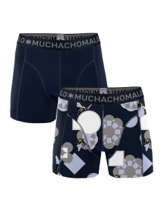 MuchachoMalo Cotton Modal Pollinate 2Pack Heren Boxershorts