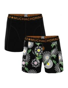 MuchachoMalo Cotton Modal Geometric 2Pack Heren Boxershorts