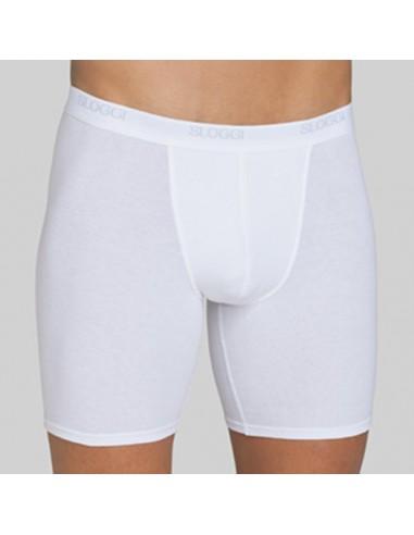 Sloggi Men Basic Long Boxershort Wit