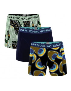MuchachoMalo Proud As A Peacock 3Pack Heren Boxershorts