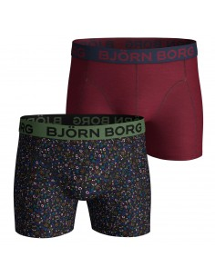 Bjorn Borg Boxershorts 2Pack BB NY TINY FLOWERS Black Beauty