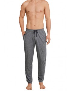 Schiesser Long Pants Lounge Broek Grey