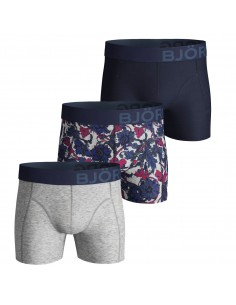 Björn Borg Boxershorts 3Pack Shorts BB French Flow