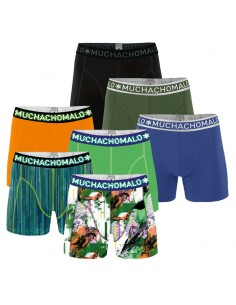 MuchachoMalo GLITCH SOLID 277 Combi 7pack Heren Boxershorts