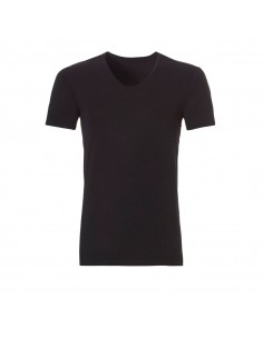 Ten Cate ondergoed Men Bamboo V-Shirt Zwart