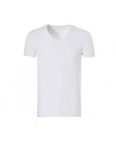 Ten Cate ondergoed Men Bamboo V-Shirt Wit
