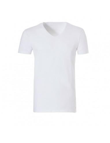Ten Cate ondergoed Men Organic V-Shirt wit