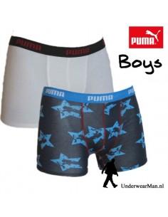 Puma Boxershort Duopak Superstar Blue