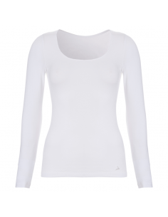 Ten Cate Dames Shirt Longsleeve Wit