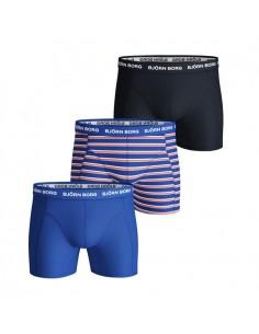 Björn Borg Boxershorts 3Pack Short LA Stripe