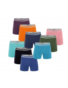 MuchachoMalo Solid Holidays 9Pack Actie Heren Boxershorts