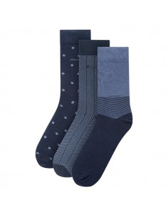 Jockey Casual Sock 3Pack Navy