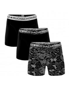MuchachoMalo 3Pack Bamboo Jongens Boxershorts