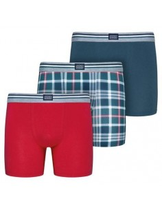 Jockey Boxershorts Cotton Stretch  Trunk 3Pack Star Gazer