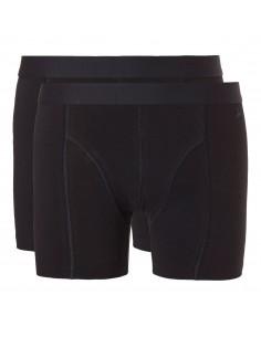 Ten Cate Men Fine Boxershort 2Pack Zwart