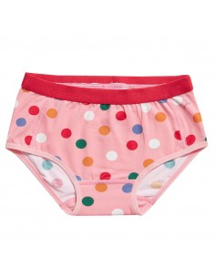 Ten Cate Meisjes Brief Slip Dots Pink 2-10Y