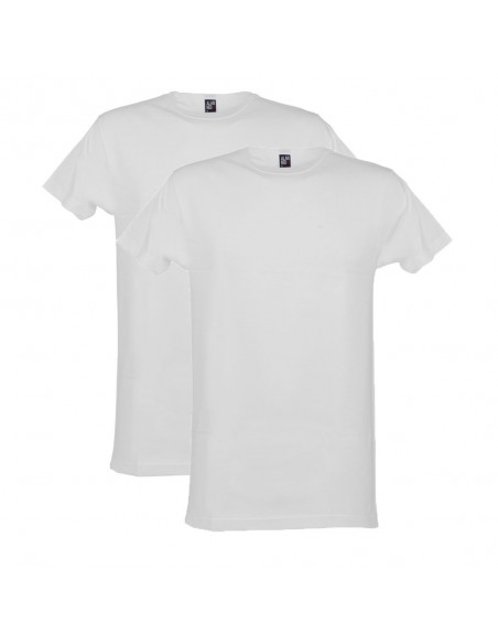 Alan Red T-Shirt Derby 2Pack Wit