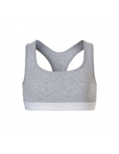Ten Cate Meisjes Soft Top Light Grey Melee 10-18Y Teens