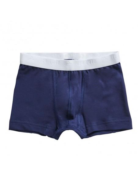 Ten Cate Jongens Boxershort 2Pack Stripe and Medieval Blue 2-10Y Boys