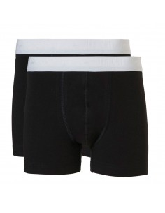 Ten Cate Jongens Boxershort 2Pack Black 10-18Y Teens