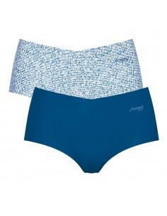 Sloggi Zero Microfibre Short Blauw 2Pack