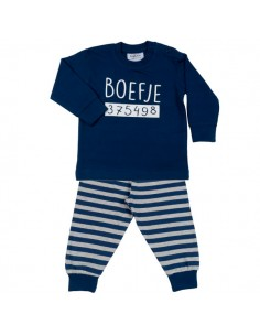 Fun2wear Pyjama Boefje Navy Blauw