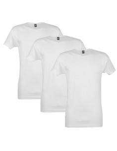 Alan Red T-Shirt Vermont 3Pack Wit