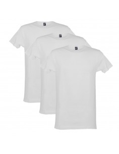 Alan Red T-Shirt Derby 3Pack Wit