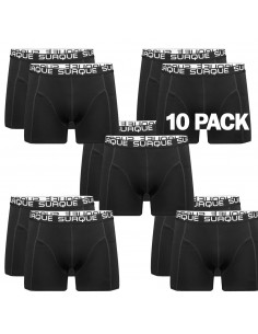 Suaque Black Boxershorts 10 pack