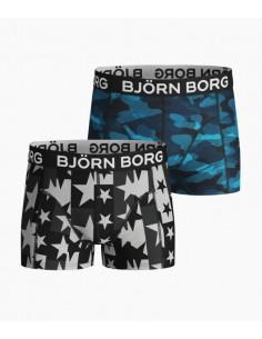 Bjorn Borg 2Pack Boxershorts Boys BB SAMMY STARSTRUCK and SHADELINE