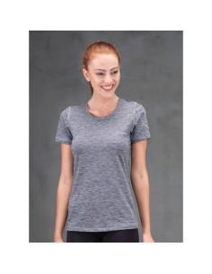 Blackspade Active T-Shirt Grijs Melange